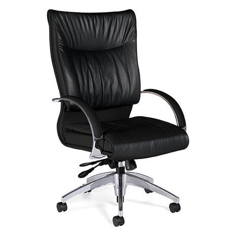 Softcurve High Back Leather Executive