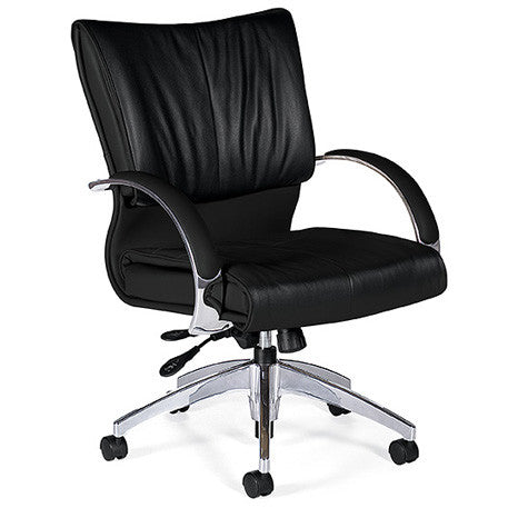 Softcurve Medium Back Leather Executive
