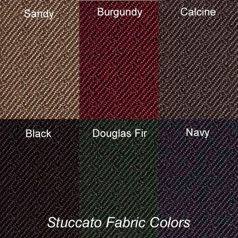 Here Are the Six Staccato Fabric Colors Available for Quick Ship