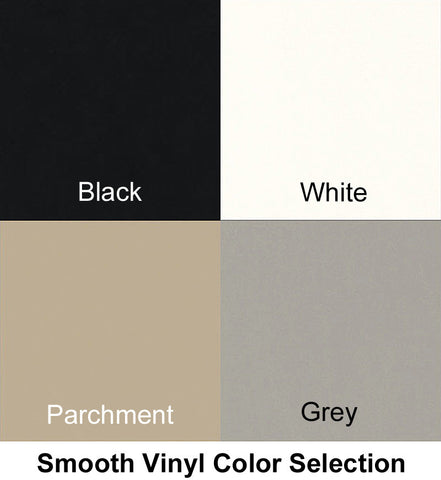 Vion Smooth Vinyl Fabric Color Selection for Seat Cushion