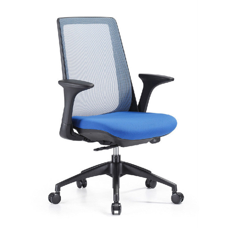 Woodstock Creedence Weight Activated Mesh Task Chair, Fabric Seat
