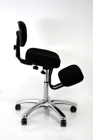 Jobri Jazzy Kneeling Chair - Black