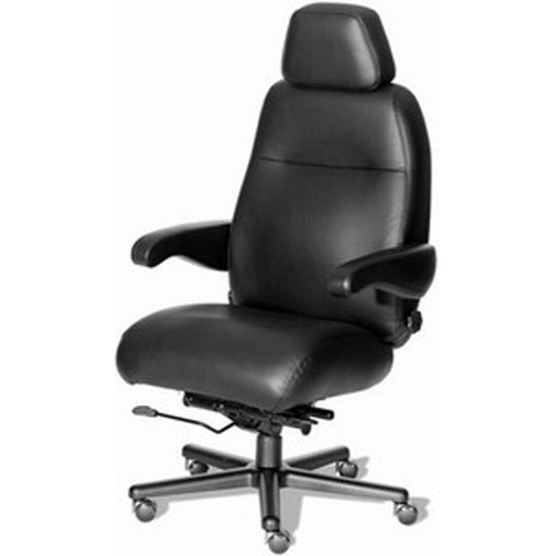 Henry Big & Tall 24-7 All Leather Office Chair