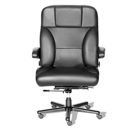 Stress Reducer Big & Tall All Leather Office Chair