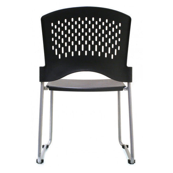 EnWork Guest Stack Chair Set of 4