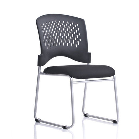 Ergo Contract Padded Guest Stack Chair Set of 4