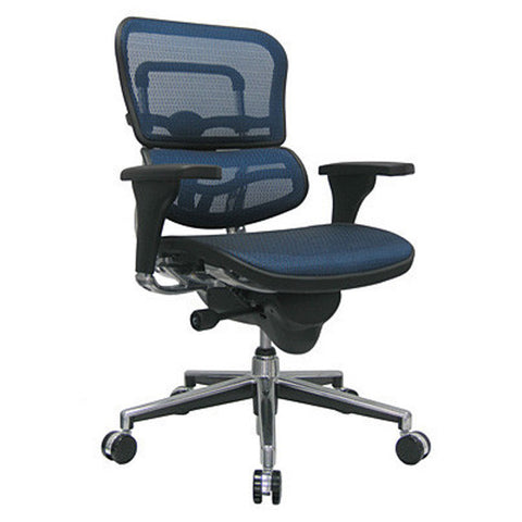 Ergohuman All Mesh Mid Back Executive