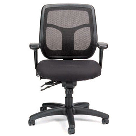 Ratchet Back Multi Function Task Chair
