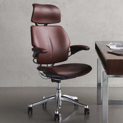 ... Humanscale Freedom Leather Task Chair ...
