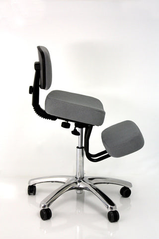 Jobri Jazzy Kneeling Chair - Grey