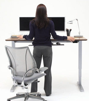 ... Humanscale Float Sit Stand Desk ...