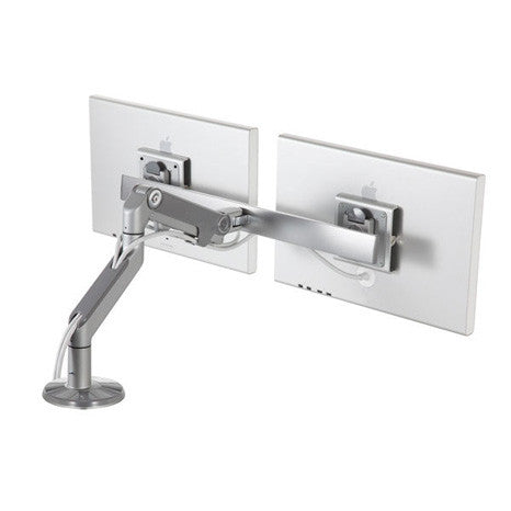Humanscale M8 Dual Monitor Arm Bolt-Through Mount