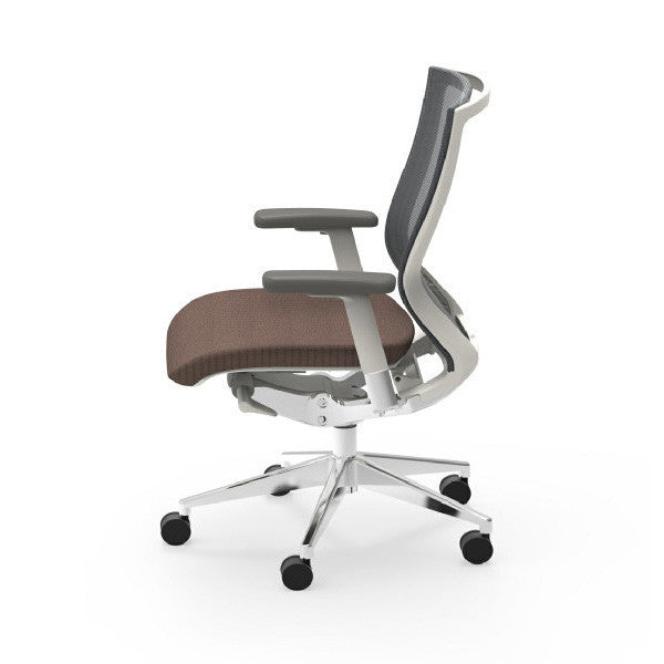 white frame office chair. Oroblanco White Frame Executive Task Chair Office