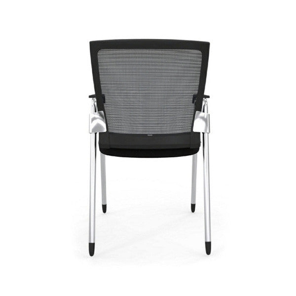 Oroblanco Black Frame Guest Arm Chair