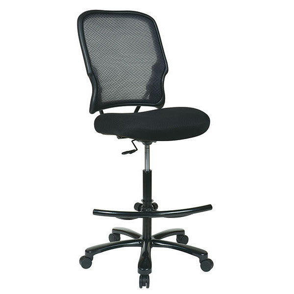 Air Grid Big & Tall Drafting Chair