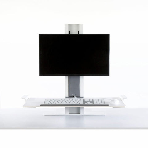 Desk Top Sit Stand Single Monitor