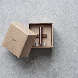 KNOB A2.02 COPPER PVD - HAVEN