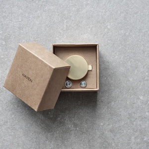 KNOB A2.06 BRASS - HAVEN
