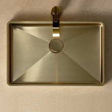 Load image into Gallery viewer, Wash Basin BRASS PVD - HAVEN