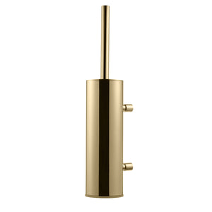 TA220 WALL MOUNTED TOILET BRUSH - BRASS
