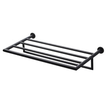 Load image into Gallery viewer, TA814 TOWEL SHELF - MATTE BLACK