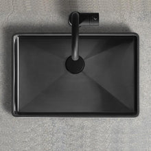 Load image into Gallery viewer, Wash Basin BLACK CHROME PVD - HAVEN