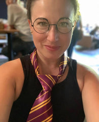 Wizard Glasses and Tie Set