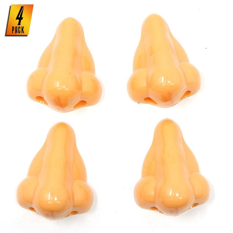 Funny Nose Pencil Sharpener - Stocking Stuffers Kids School Supplies Gag Sharpeners - 4 Pack