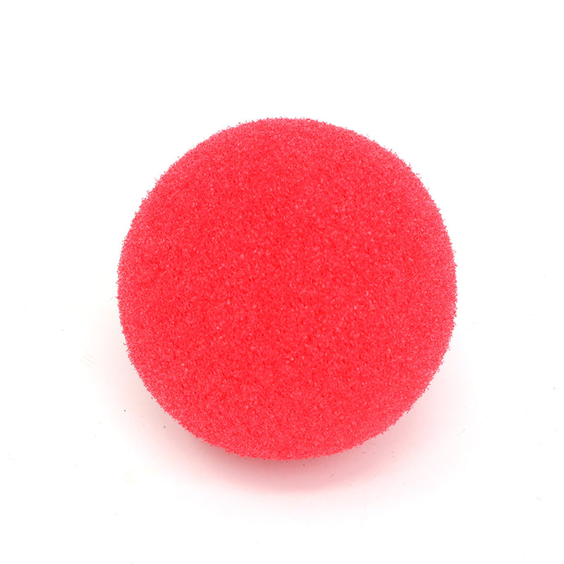 Red Carnival Clown Noses - Red Sponge Nose for Circus Costume Party Supplies - 12 Pieces