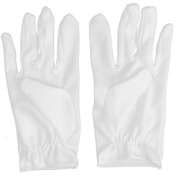 White Child Costume Gloves