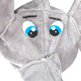 Stuffed Elephant Costume Hat