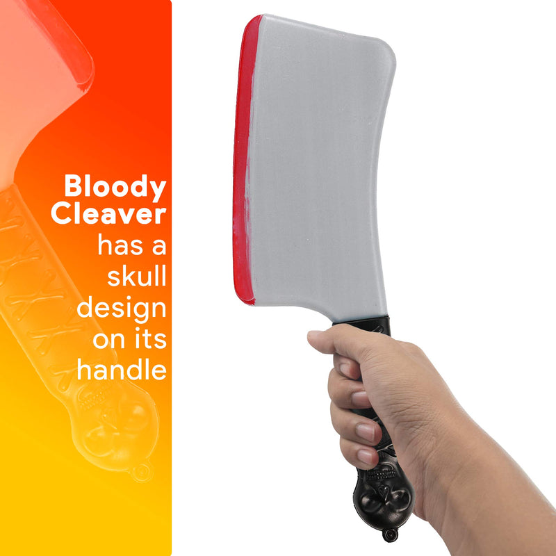 Bloody Cleaver Costume Knife