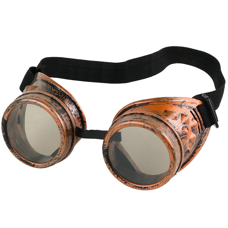 Steampunk Goggles Costume Accessories - Cyber Victorian Welding Glasses - 1 Piece