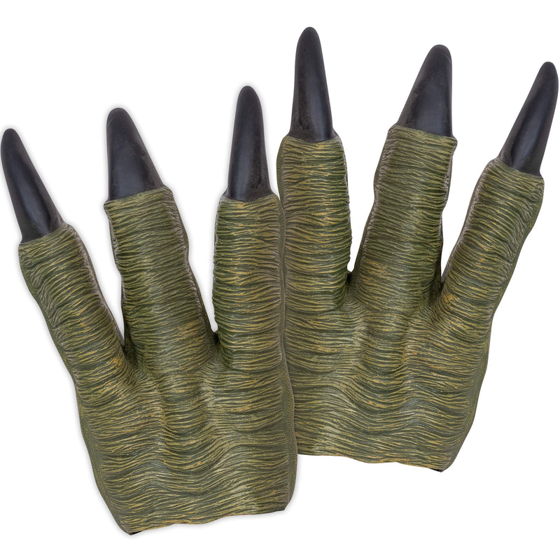 Dinosaur Claws Costume Accessories - Velociraptor Pretend Play Dino Paw Gloves Cosplay Accessories for Adults and Kids