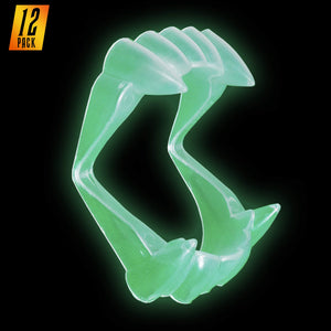 Glow in The Dark Clear Vampire Fangs