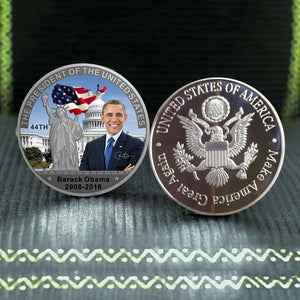 Commemorative Obama Presidency Coin