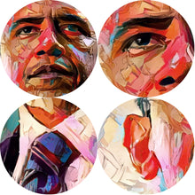 Load image into Gallery viewer, President Obama Art Canvas Print