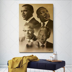 The Gamechangers Art Canvas Print