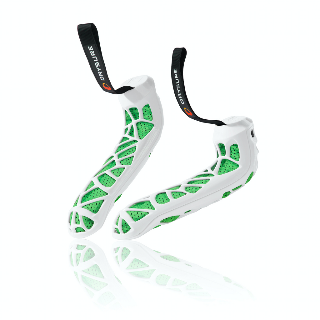 Drysure Active White and Green - Great for Rugby