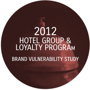 2012 HOTEL GROUP BRAND VULNERABILITY STUDY