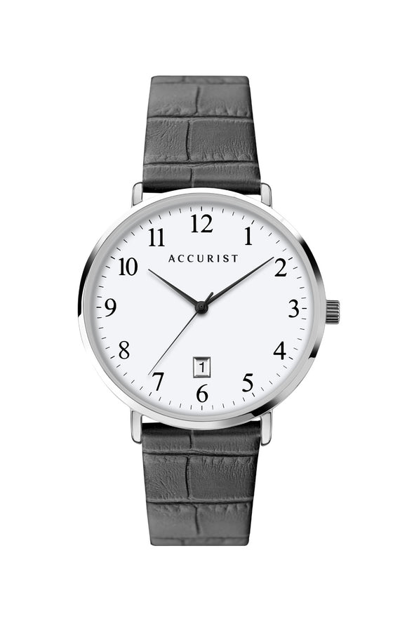Accurist Men's Classic Black Strap Watch 7369.00
