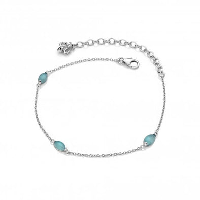 Hot Diamonds Anais Blue Agate Stone Bracelet AB009