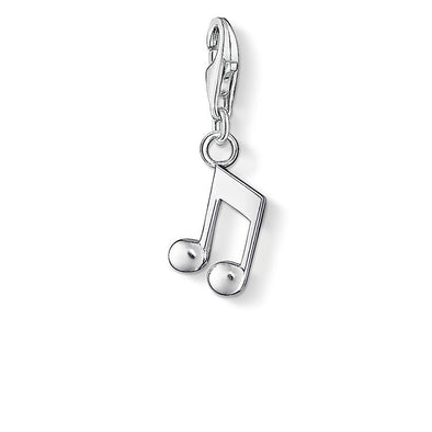 Thomas Sabo Silver Musical Note Charm 0846-001-12