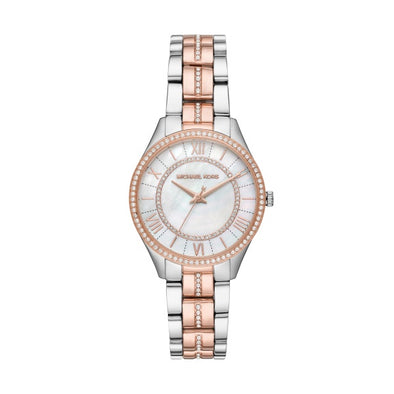 Michael Kors Lauryn two tone Rose S/S Watch MK3979