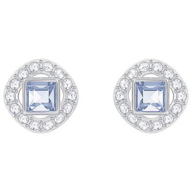 Swarovski Angelic Square Earrings Blue 5352048