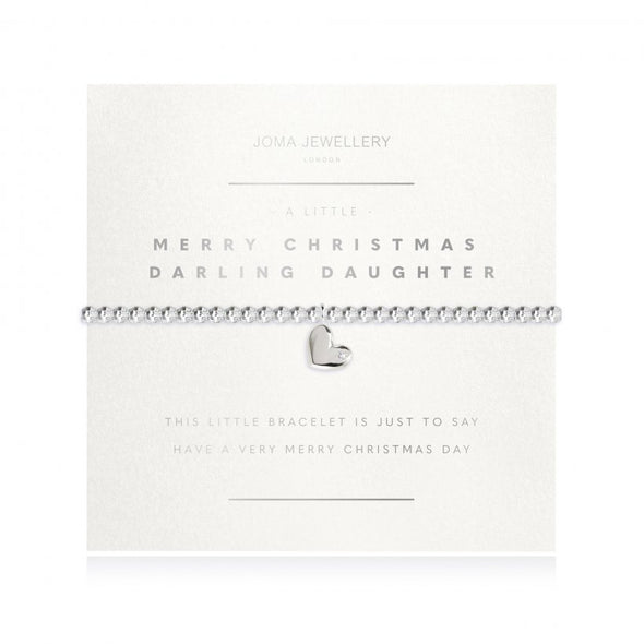 Joma Jewellery A Little Merry Christmas Darling Daughter 3196
