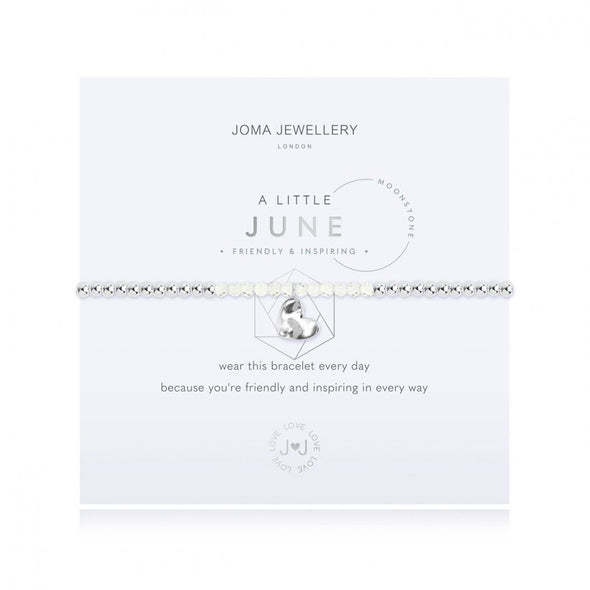 Joma Jewellery A Little Birthstone June Moonstone 3465