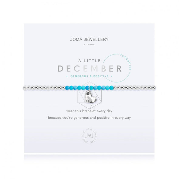 Joma Jewellery A Little Birthstone December Turquoise 3471