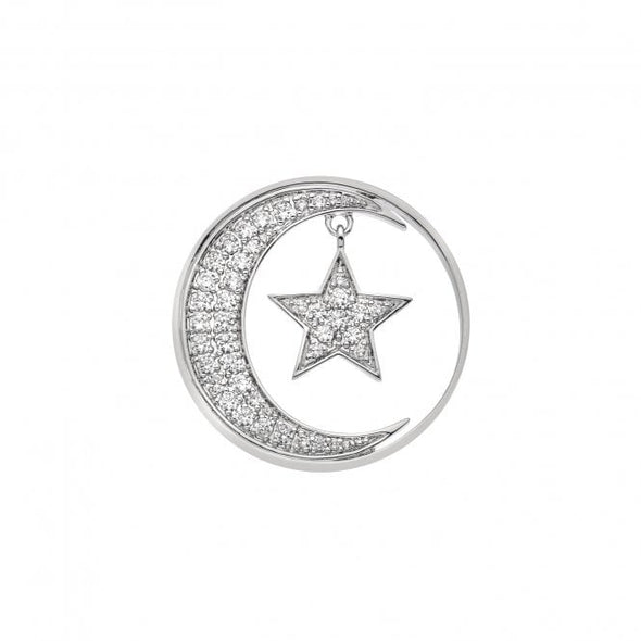Hot Diamonds 33mm Notturno Drop Coin EC521
