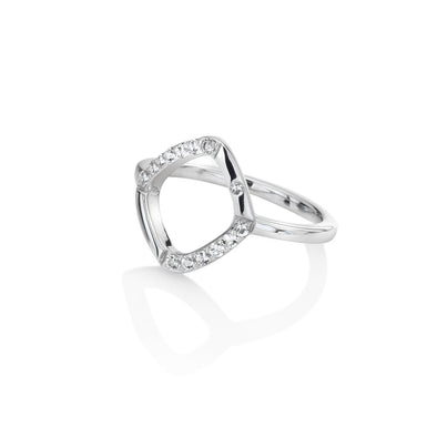 Hot Diamonds Silver Behold Ring DL217